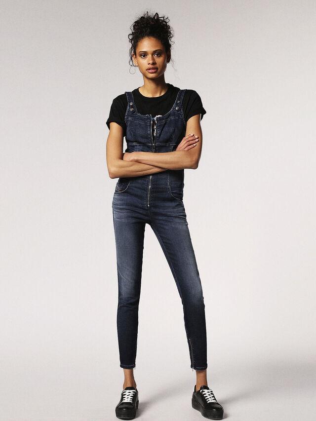 Diesel - ZEPPEL JOGGJEANS, Blue Jeans - Monos - Image 3