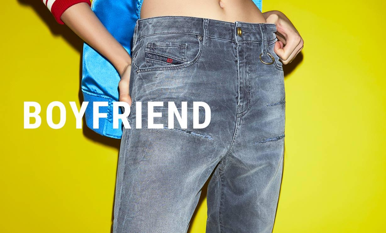 80fcf8ddf6 Boyfriend Vaqueros Mujer