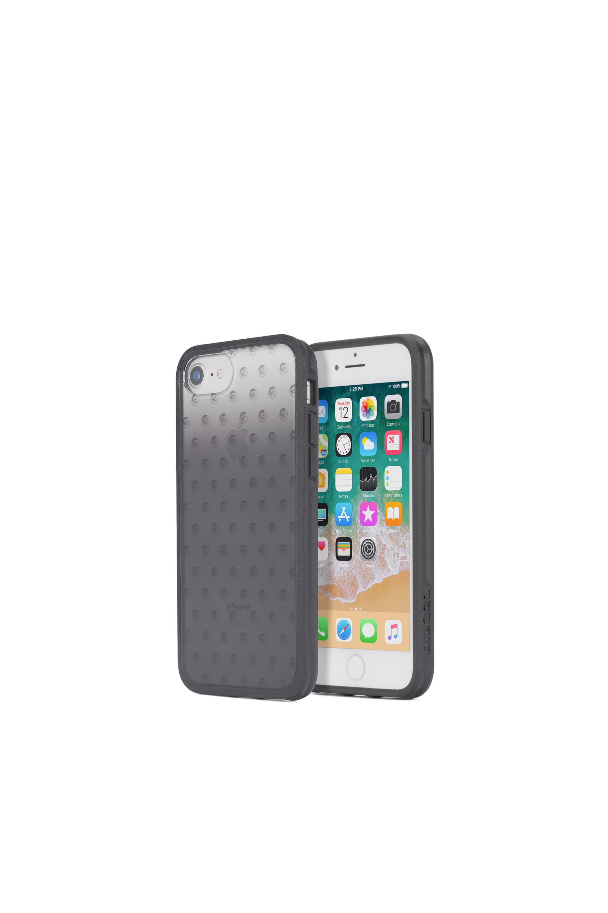Diesel - MOHICAN HEAD DOTS BLACK IPHONE 8/7/6s/6 CASE,  - Fundas - Image 1