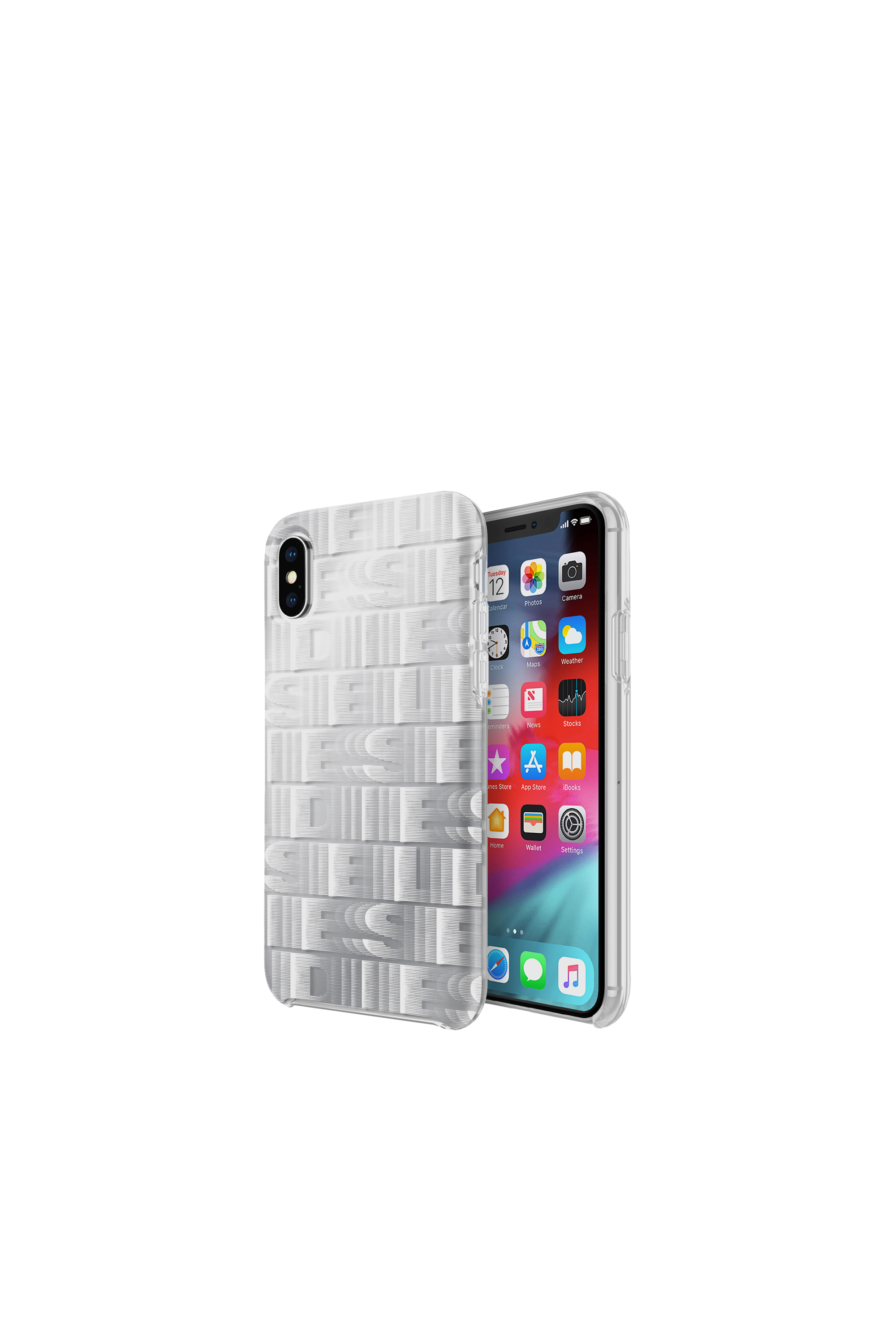 Diesel - DIESEL PRINTED CO-MOLD CASE FOR IPHONE XS & IPHONE X,  - Fundas - Image 1