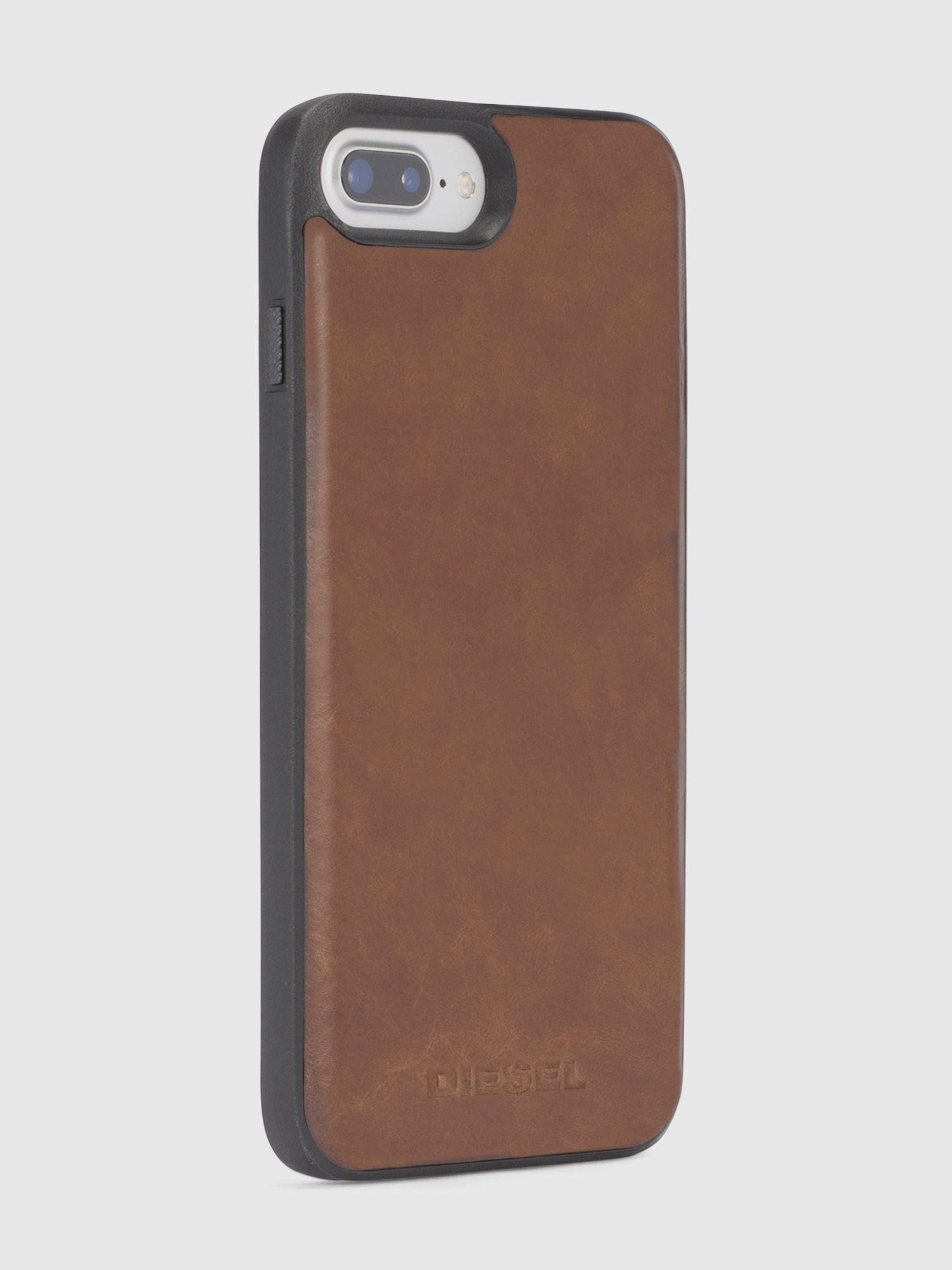 Diesel - BROWN LEATHER IPHONE 8/7/6s/6 CASE,  - Fundas - Image 5