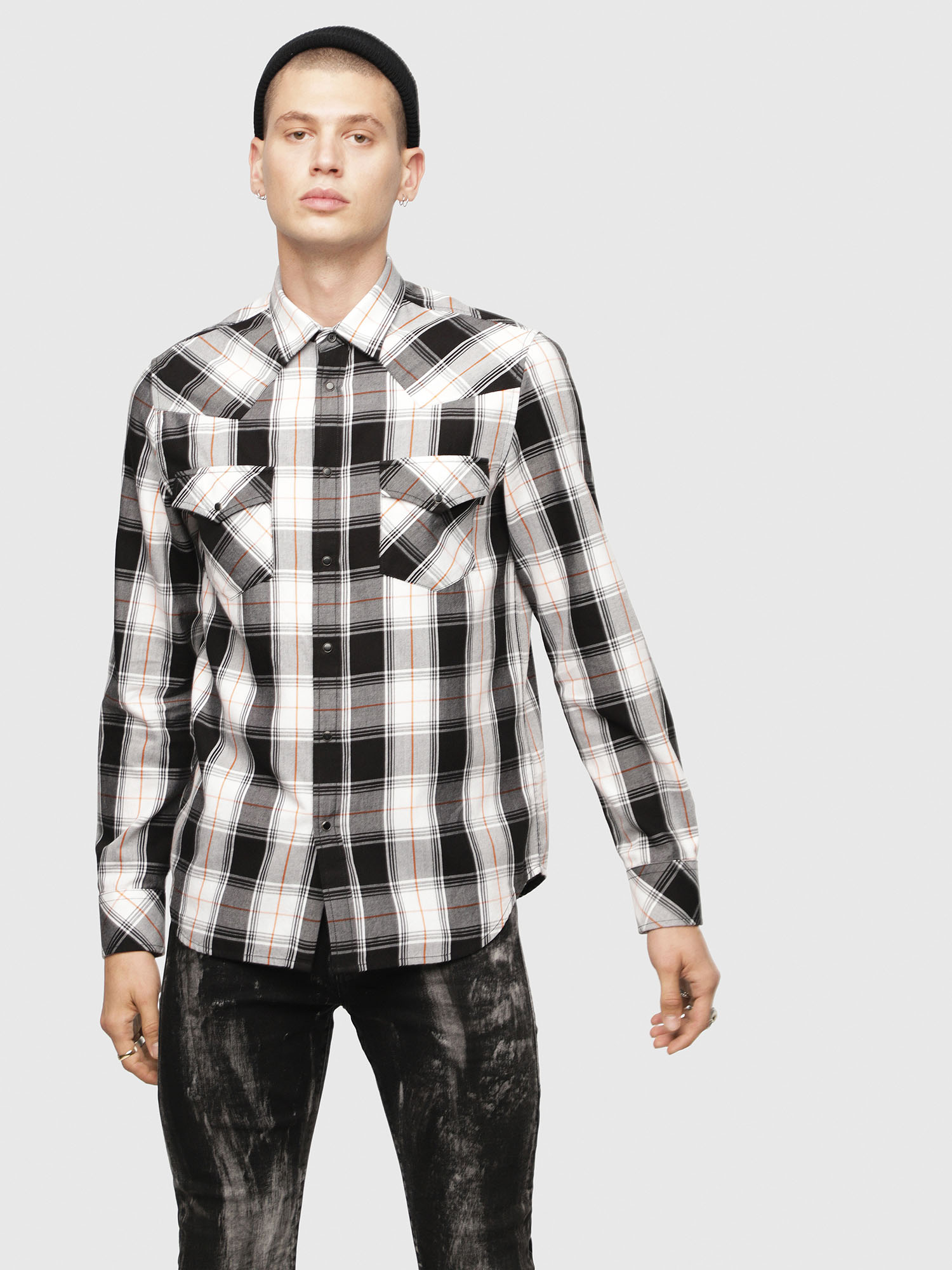 Diesel - S-EAST-LONG-E,  - Camisas - Image 1