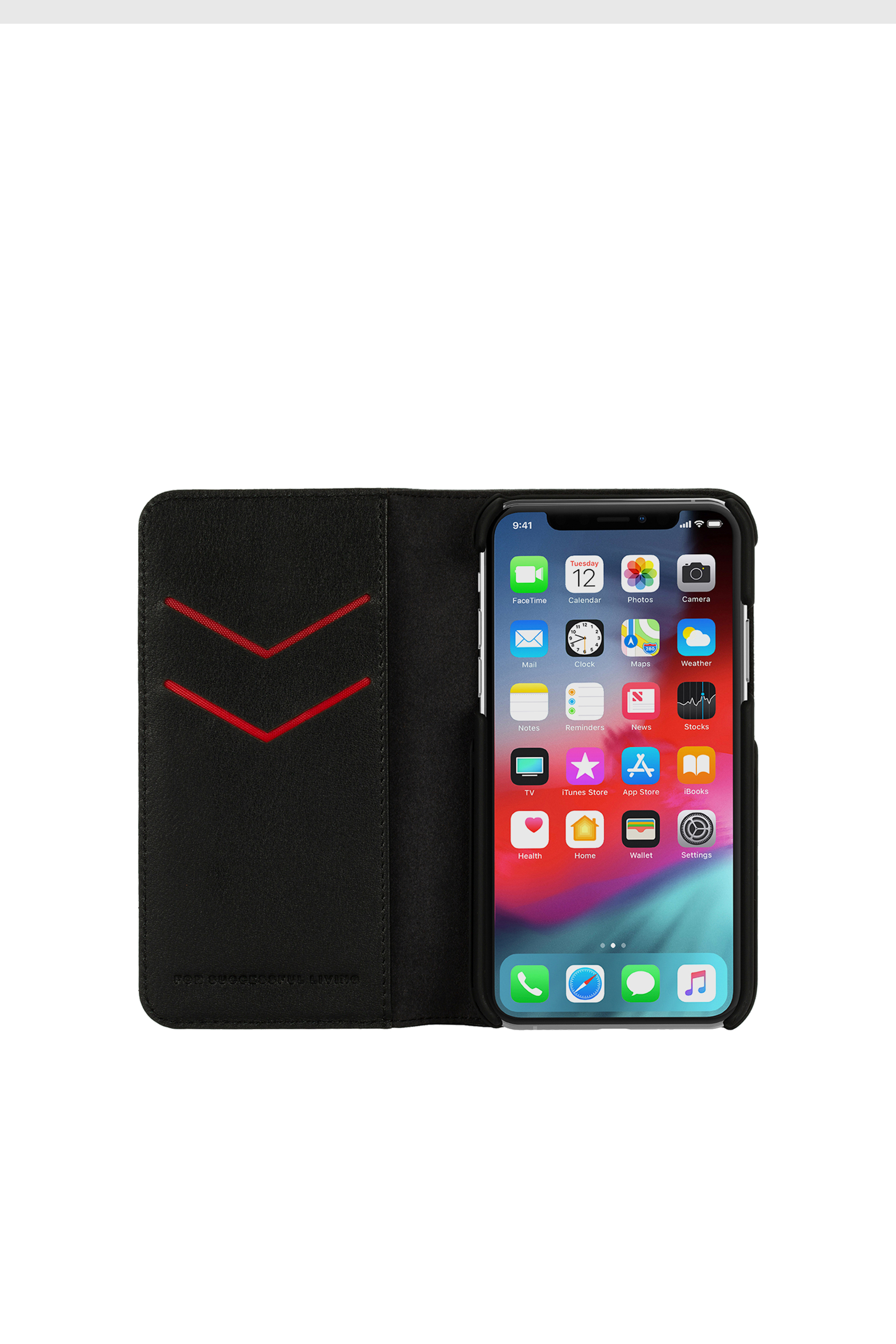 Diesel - DIESEL 2-IN-1 FOLIO CASE FOR IPHONE XS & IPHONE X,  - Fundas tipo libro - Image 6